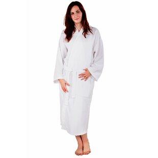 Kimono 100% Turkish Cotton Waffle Bathrobe 16a72bcb7
