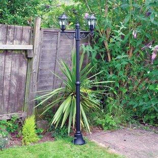 Roger 2 Light 200cm Post Lantern Set By ClassicLiving