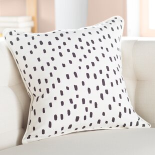 Yahya Contemporary Cotton Throw Pillow