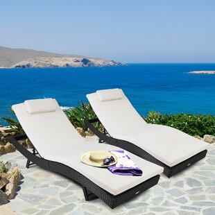 Heaven Reclining Chaise Lounge by Orren Ellis