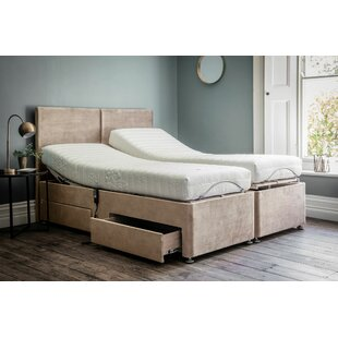Adjustable Small Double Divan Base By Gallery Direct