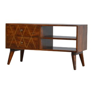 Malaga Solid Wood TV Stand By George Oliver