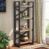 Rorie 61.81 H x 23.62 W Metal Standard Bookcase by Gracie Oaks