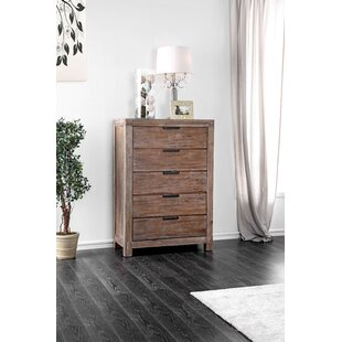 Perez 5 Drawer Chest by Union Rustic