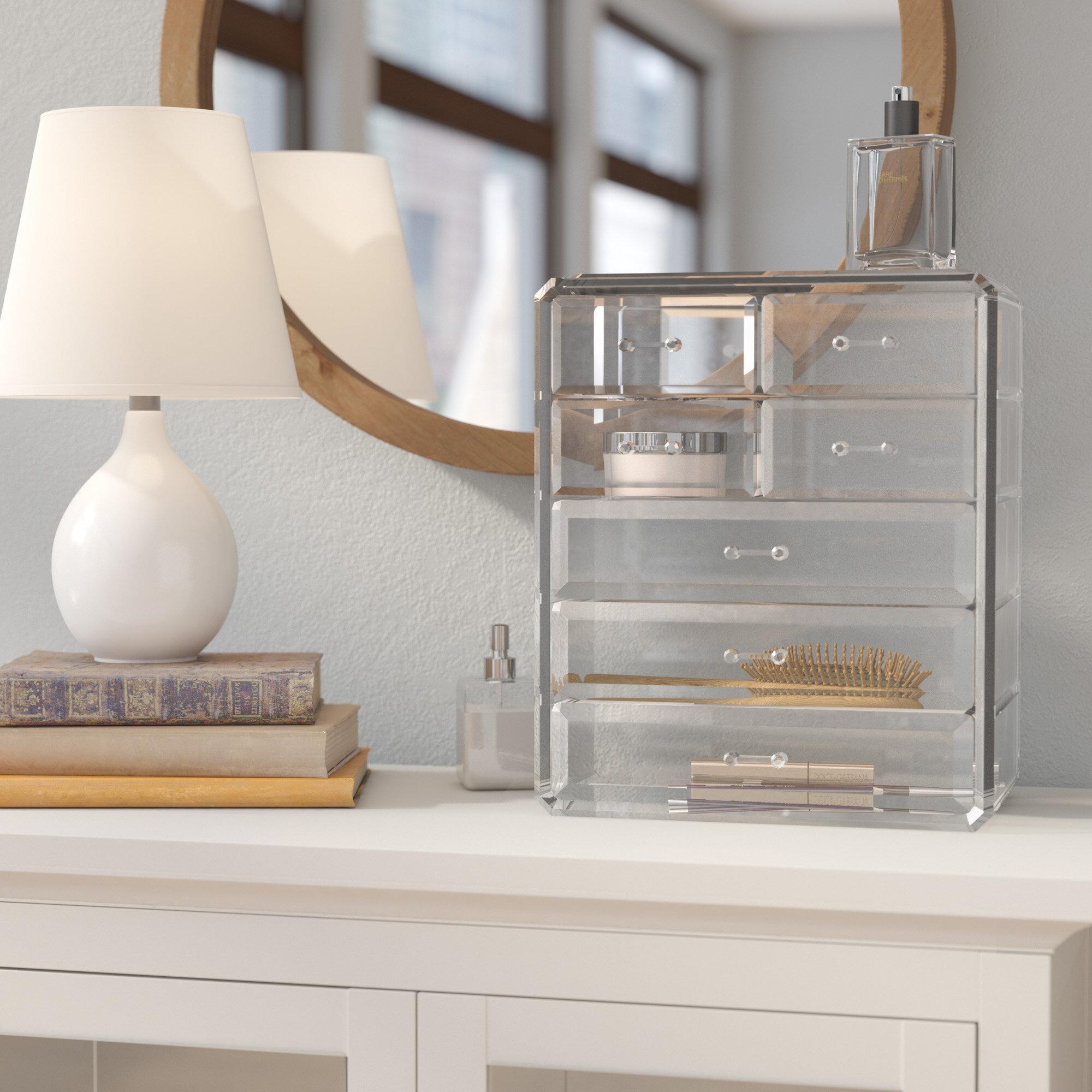 Genial Makeup Storage With Drawers | Wayfair