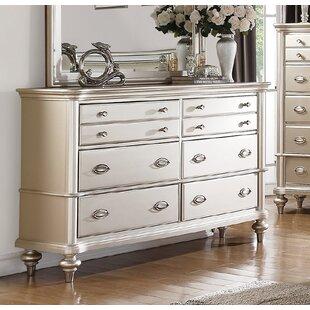 House of Hampton Tiya 6 Drawer Double Dresser