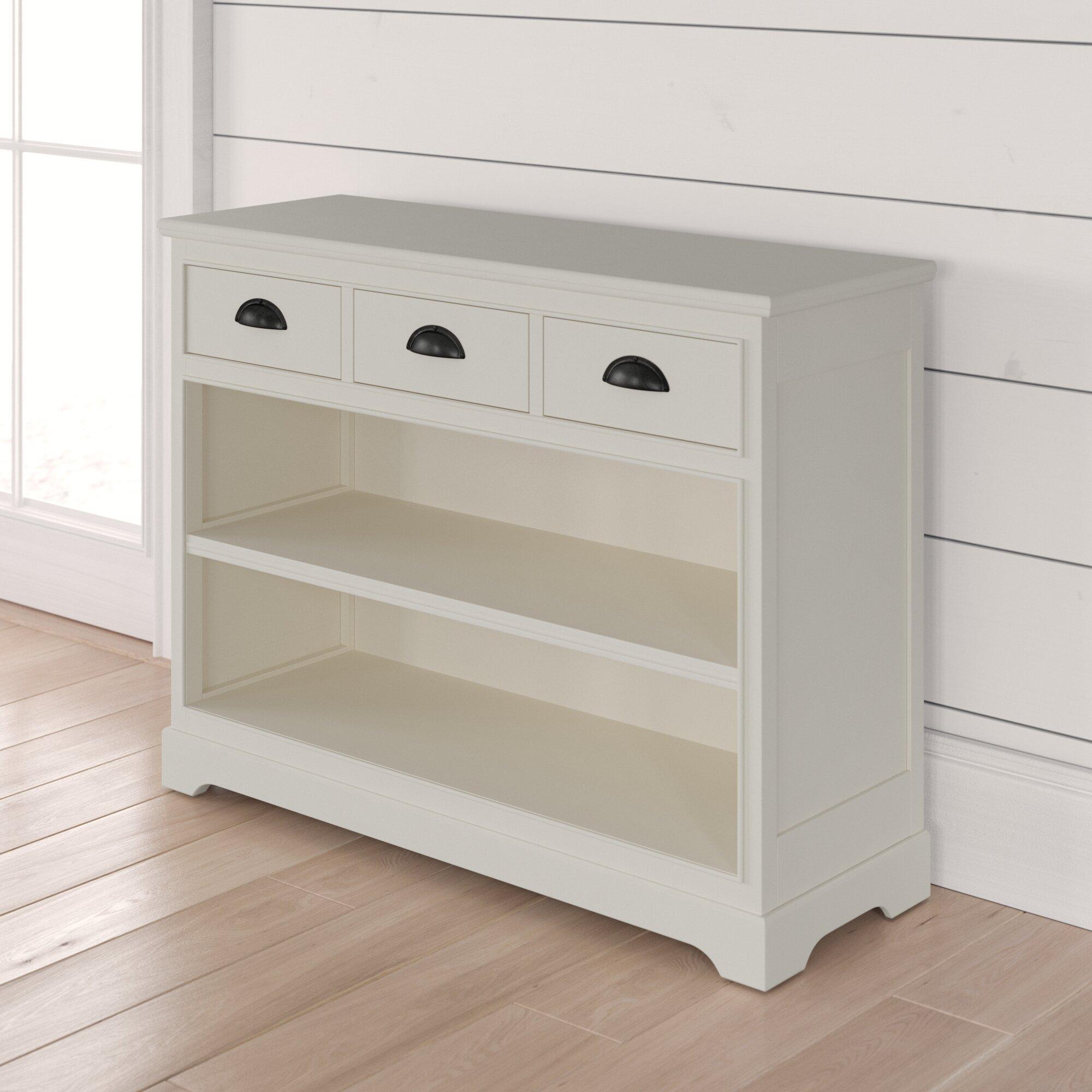 Beachcrest Home Griffin Standard Bookcase Reviews Wayfair
