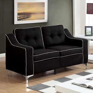 Shop Ouseman Contemporary Loveseat by Orren Ellis