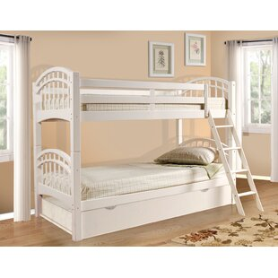 Where buy  Cowen Twin over Twin Bunk Bed with Trundle by Harriet Bee Reviews (2019) & Buyer's Guide