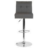 Ravello Swivel Adjustable Height Bar Stool by Mercer41