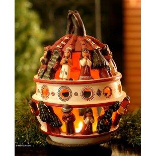 Mcferren Ceramic Lantern by Bloomsbury Market