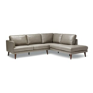 Corringham Leather Sectional by Corrigan Studio Best