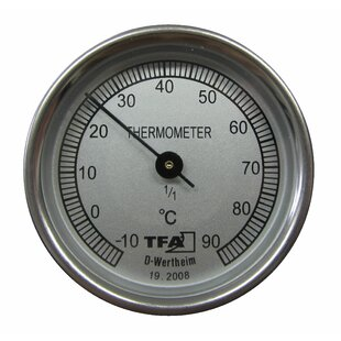 Claar Thermometer By Symple Stuff
