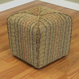 Coghlan Cube Ottoman by Red Barrel Studio