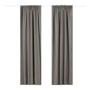 Extra Wide Curtains Blackout Wayfair Co Uk