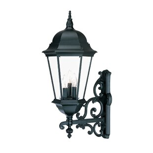 Astoria Grand Bellver Traditional 3-Light Outdoor Sconce
