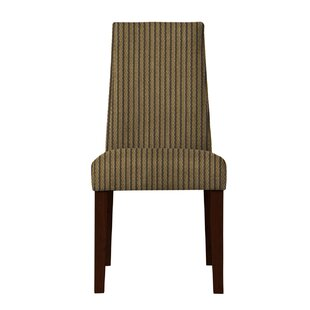 Haddonfield Stripe Side Chair (Set of 2) by Latitude Run