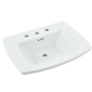 Great deal Edgemere 25 Pedestal Bathroom Sink with Overflow ByAmerican Standard