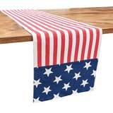 Independence Day Table Runner Table Linens Up To 65 Off Until 11 20 Wayfair Wayfair