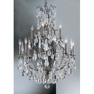 Classic Lighting Versailles 13-Light Candle Style Chandelier