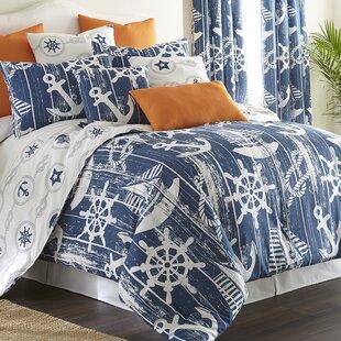 Longshore Tides Gibsonia 100% Cotton Reversible Comforter Set
