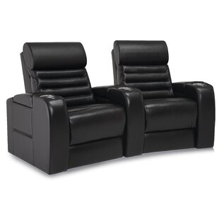 Alexandria Curved Home Theater Loveseat (Row of 2) by Palliser Furniture