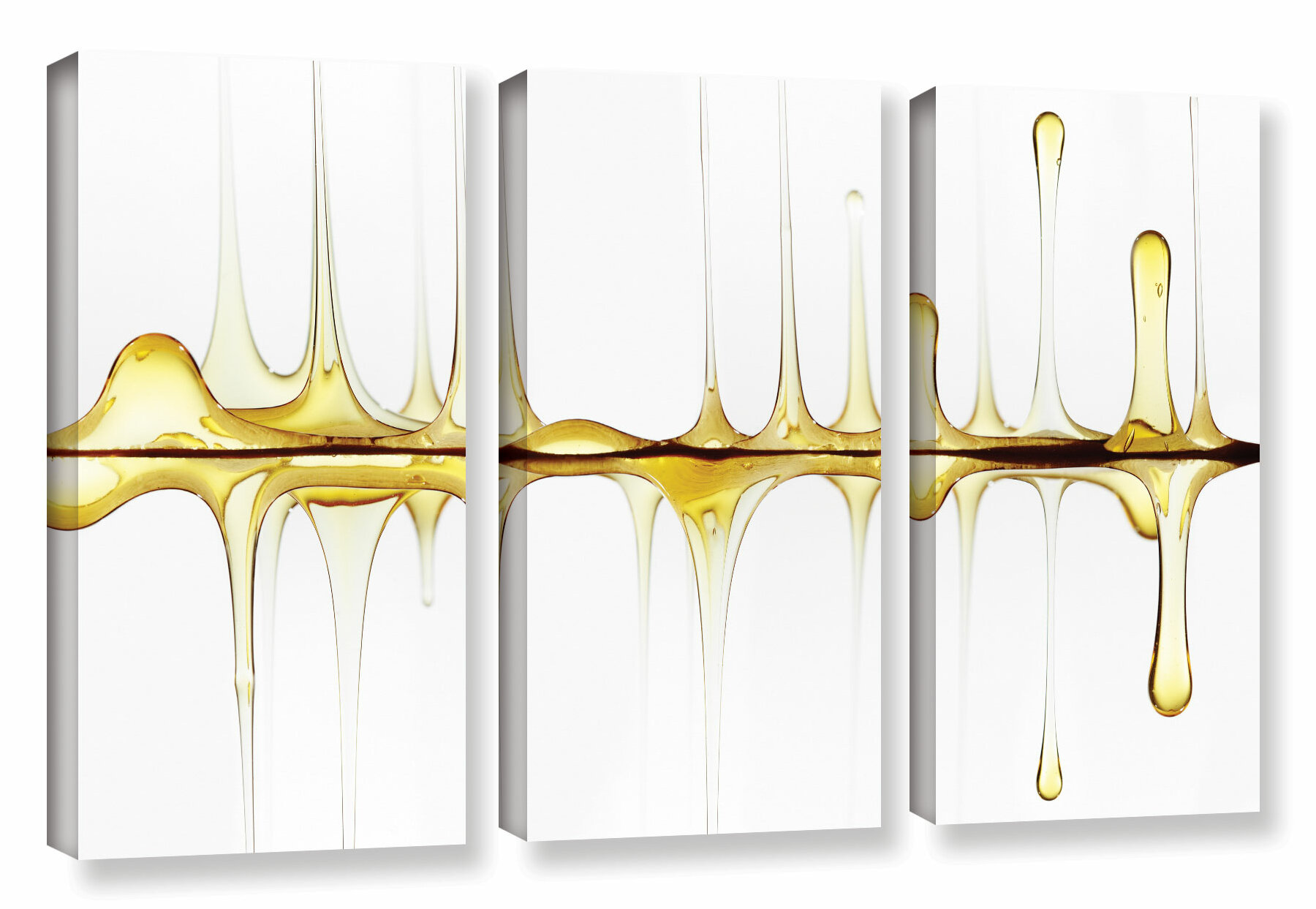 Latitude Run Sweet Sound Of Your Voice 3 Piece Graphic Art On Wrapped Canvas Set Wayfair