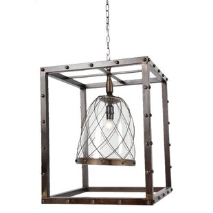 Pressley 1-Light Square/Rectangle Pendant by 17 Stories