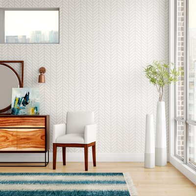 Peel and Stick Removable Wallpaper You'll Love   Wayfair