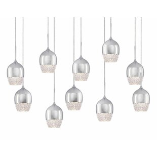 Cabaret 10-Light Pendant by Radionic Hi Tech