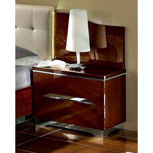 2 Drawer Nightstand by Noci Design
