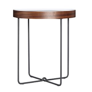 Vidales Round End Table by Brayden Studio