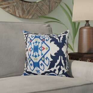 Meetinghouse Bombay Medallion Geometric Print Throw Pillow