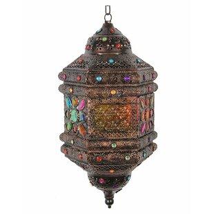 Bloomsbury Market Traditional Metal Lantern