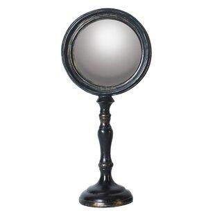 Winston Porter Tibbitts Classic Eye Makeup/Shaving Mirror