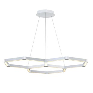 Rosenzweig 3-Light LED Chandelier by Orren Ellis