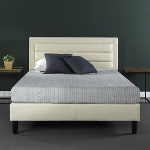 Mehta Upholstered Platform Bed by Ebern Designs