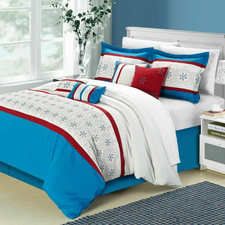 Chic Home Bella Rose Comforter Set Wayfair