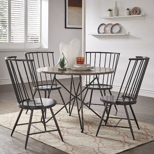 Charleigh 5 Piece Dining Set by Gracie Oaks