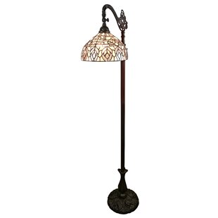 Compare prices Tiffany Style 62 Arched/Arc Floor Lamp By Amora Lighting