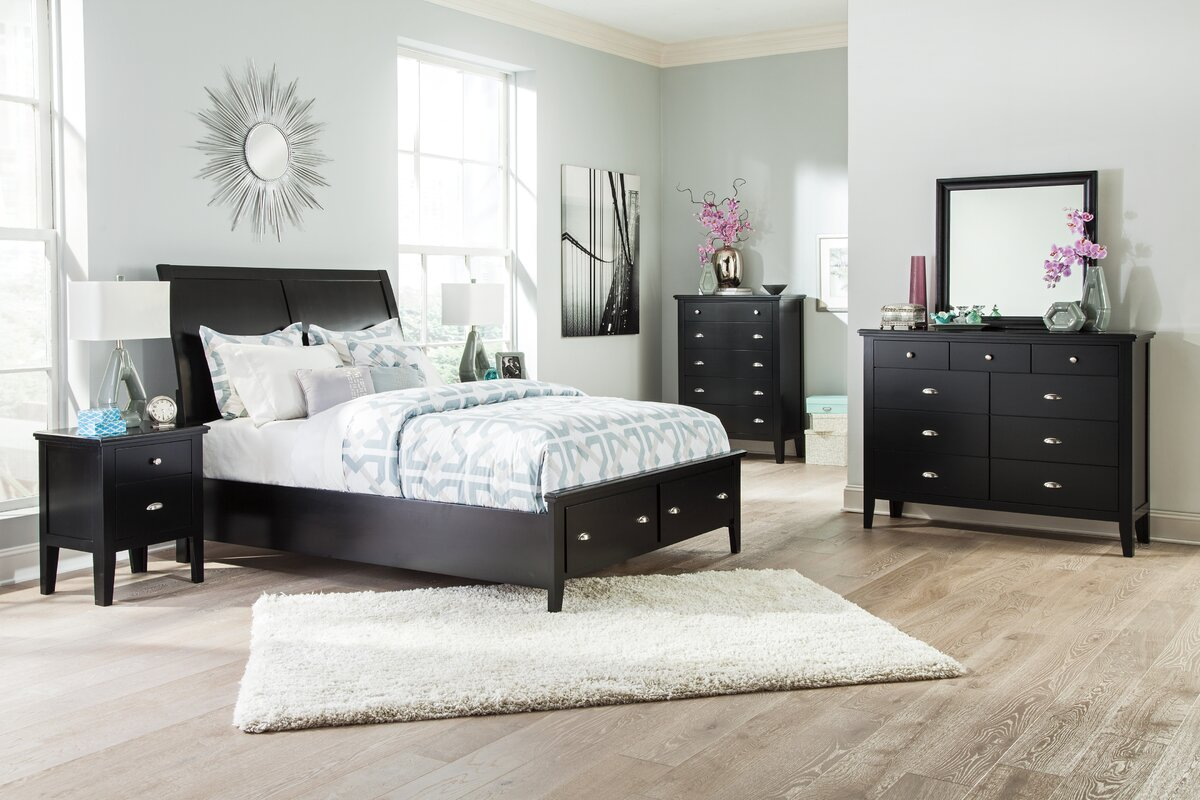 Crockett Panel Configurable Bedroom Set