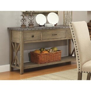 Charlot Buffet Table by Gracie Oaks