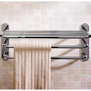 rack teak hanging towel wulan sanding bathroom