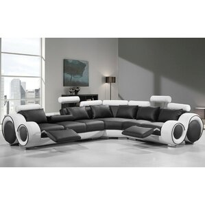 Orren Ellis Faviola Reclining Sectional