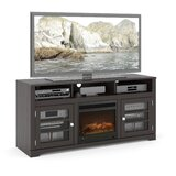 Marilynn TV Stand for TVs up to 65 with Fireplace Included by Ivy Bronx