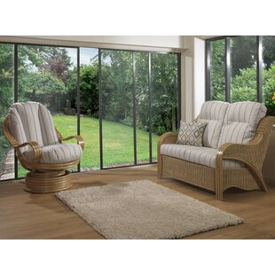 Review Kara 2 Piece Conservatory Sofa Set