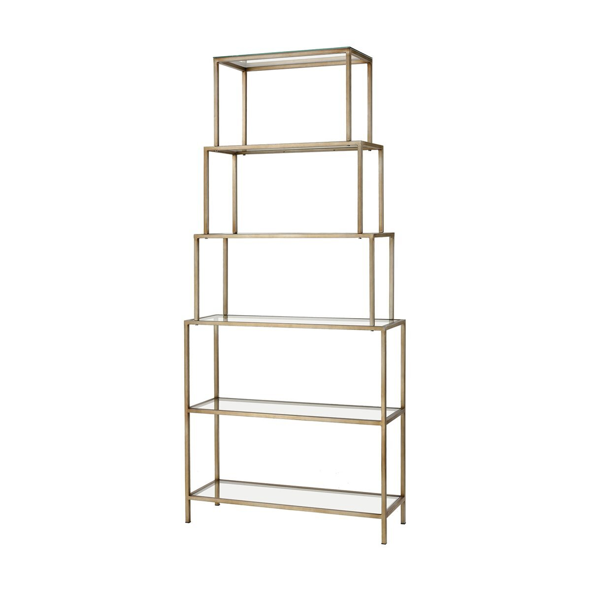 Geometric Glass Bookcases You Ll Love In 2021 Wayfair