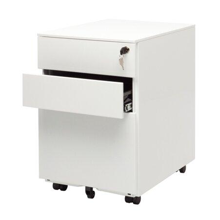 Office Drawer Mobile File Cabinet Reviews AllModern - 3 drawer black file cabinet