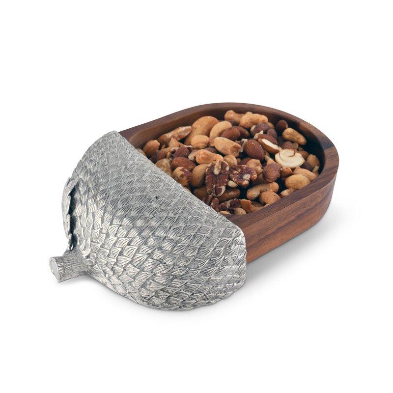 Vagabond House Majestic Forest Acorn Nut Bowl Wayfair