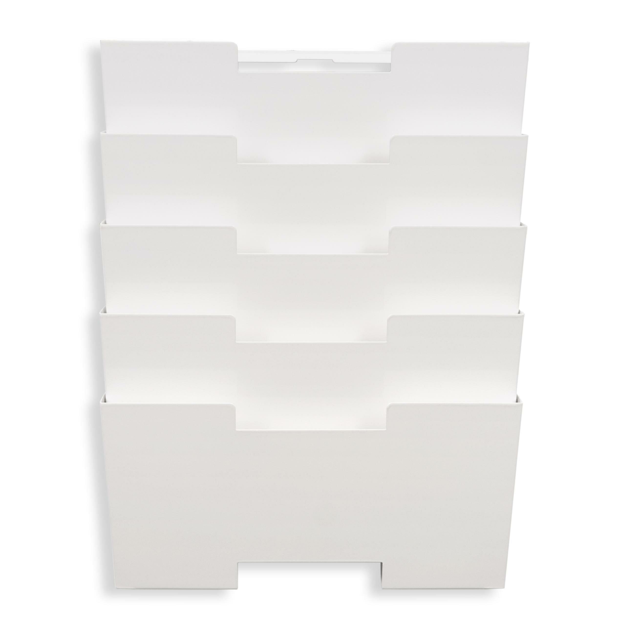 Wallniture Lisbon Wall File Open Filing Unit Magazine Rack Reviews Wayfair Ca